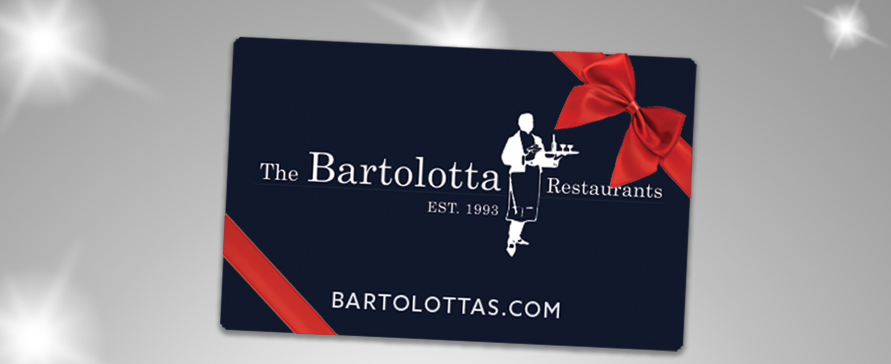 Bartolotta Gift Cards for the Holidays
