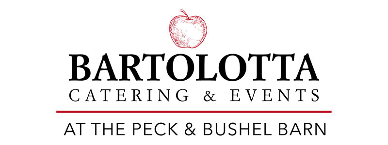 Bartolotta catering and events at The Peck & Bushel Barn