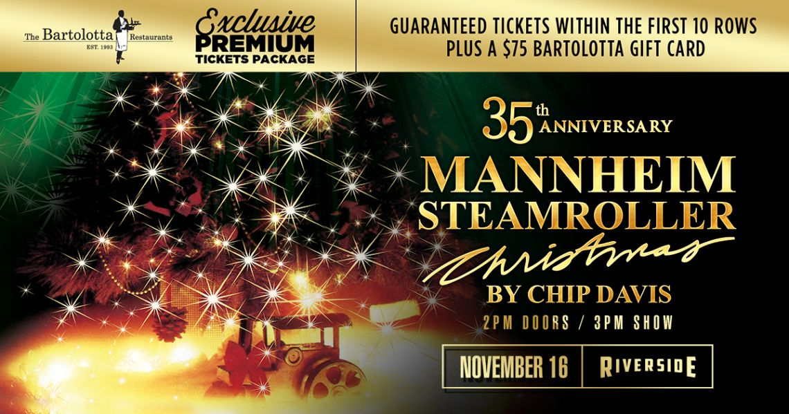 Mannheim Steamroller Christmas Date Night Package The